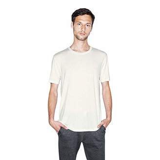 American Apparel Men's Mix Modal Short Sleeve T-Shirt