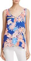 Cooper & Ella Tropical Print Clara Top