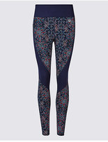 M&S Collection SculptTM Printed Leggings