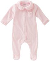 Absorba Light Pink Velour Footie - Infant