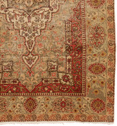 Rejuvenation Detailed Ghiordes Turkish Rug in Muted Palette