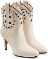 Marc Jacobs Georgia Leather Cowboy Boots