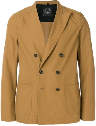 T Jacket double breasted jacket