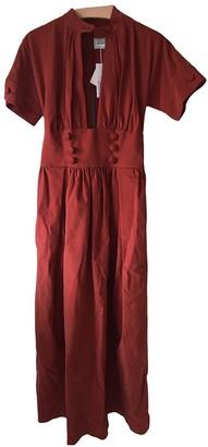 Rosie Assoulin Red Cotton - elasthane Dresses