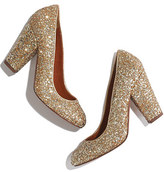 Madewell The Frankie Pump in Glitter