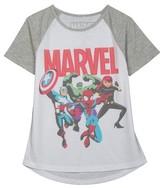 Marvel Girls' Tee Shirt - White