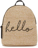 T-Shirt & Jeans Straw Hello Backpack