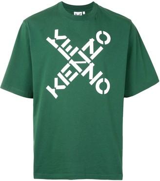 Kenzo crossed logo T-shirt