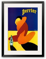 "Art.com Perrier"" Framed Art Print by Bernard Villemot"