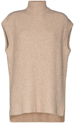 Ganni Ribbed-Knit Vest