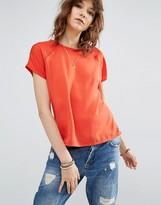 Maison Scotch Short Sleeve Mixed T-Shirt