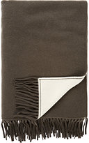 Barneys New York Reversible Cashmere Throw