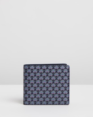 Gieves & Hawkes Men's Navy Bifold - Saffiano Leather Billfold Wallet - Size One Size at The Iconic
