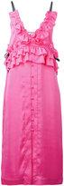 SteveJ & YoniP Steve J & Yoni P - frill slip dress - women - Polyester - XS