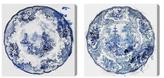Oliver Gal Vintage Plates (Set of 2) (Canvas)
