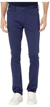 John Varvatos Wight Skinny Straight Fit Jeans in Ink Blue J315LW1B (Ink Blue) Men's Jeans