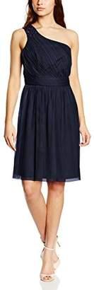 Esprit Women's One-Shoulder Sleeveless Dress - Blue