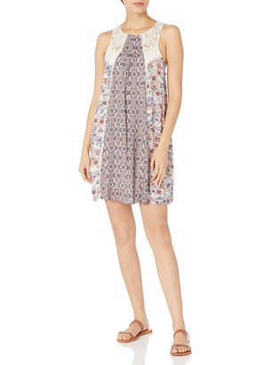 Taylor & Sage Women's Floral Mix Print Tank Dress