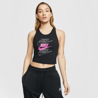 Nike Women's Sportswear Triple Futura Crop Tank