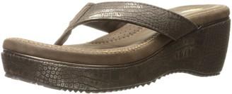 Volatile Women's Abigail Wedge Sandal Bronze 9 B US