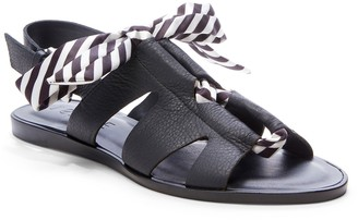 1 STATE Teena Leather Bow Sandal