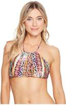 Luli Fama My Way Strings to Braid Halter Top