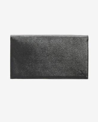 Express Large Black Strap Wallet