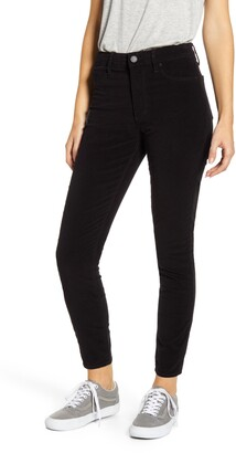 Articles of Society Hilary High Waist Ankle Velveteen Skinny Jeans