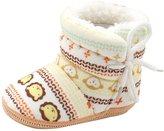 Baby Prewalker Warm Shoes,FTXJ Toddler Infant Newborn Cute Printed Soft Sole Boots