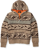 Ralph Lauren RRL Wool-Blend Full-Zip Sweater