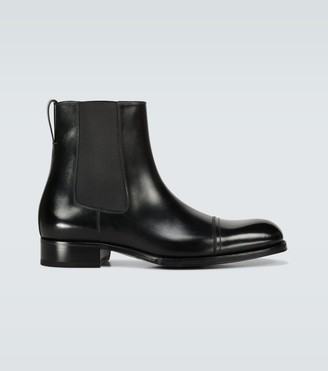 Tom Ford Edgar leather Chelsea boots