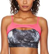 Danskin Women's Bcrf Printed Sports Bra