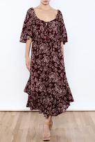 Umgee USA Floral Boho Dress