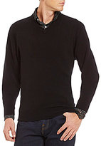 Daniel Cremieux Cashmere V-Neck Long-Sleeve Sweater