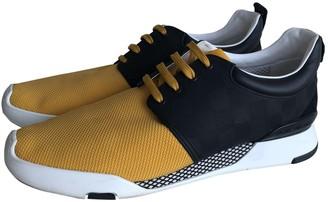 Louis Vuitton Fastlane Yellow Cloth Trainers