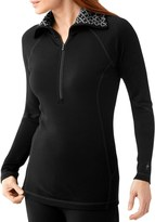 Smartwool NTS 250 Zip Funnel Neck Base Layer Top - Long Sleeve (For Women)