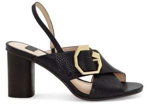 Louise et Cie Karna Leather Heeled Sandals