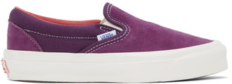 Vans Purple OG Classic Slip-On LX Sneakers