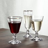 Crate & Barrel French Wine Glasses