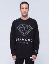 Diamond Supply Co. Brilliant Diamond Crewneck Sweatshirt