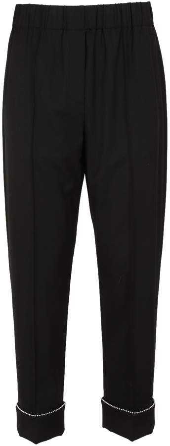 Alexander Wang Trim Cropped Trousers