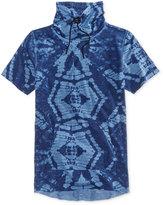 American Rag Men's Tye Dye Print Funnel T-Shirt, Only At Macy's
