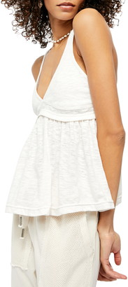 Free People Zinia V-Neck Babydoll Tank Top