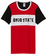 PINK The Ohio State University Short Sleeve Campus Tee