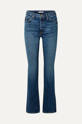 GRLFRND Sunny High-rise Flared Jeans - Mid denim