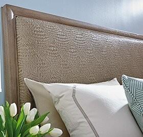 Lexington Shadow Play Upholstered Panel Headboard Size: Queen