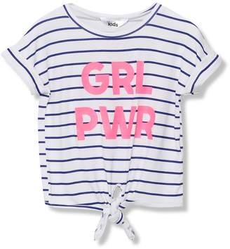 M&Co Girl power slogan t-shirt (3-12yrs)