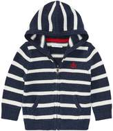 Ralph Lauren Striped Cotton Full-Zip Hoodie