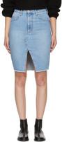 Etoile Isabel Marant Blue Denim Chadow Skirt