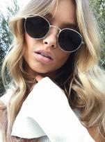 MinkPink Gold Heritage Sunglasses